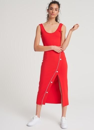 Pi π Elbise Kırmızı